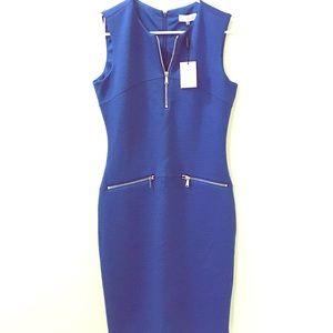 NWT Calvin Klein Dark Blue Dress